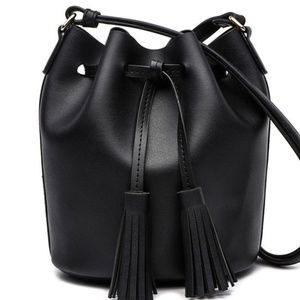 Highfalutin' hippy chick Bags - Drawstring faux leather bag